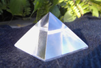 clear quartz pyramid golden rate phi divine proportion marcel vogel